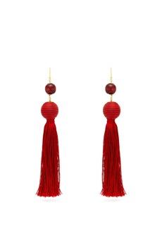 Rosantica By Michela Panero Colonia bead-embellished tassel earrings