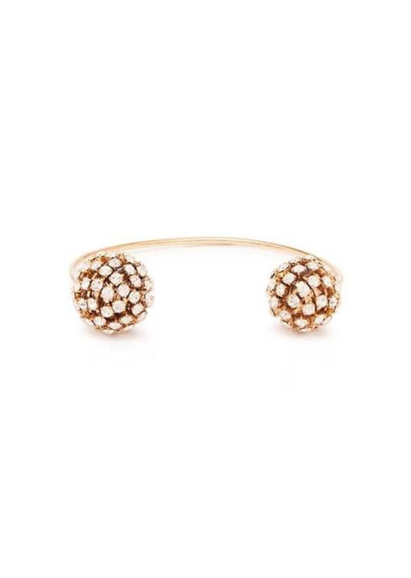 Rosantica By Michela Panero Crystal-embellished open bracelet