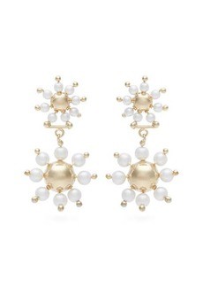 Rosantica By Michela Panero Daisy faux-pearl drop earrings