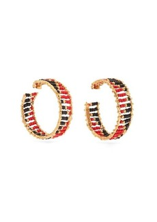 Rosantica Dakota beaded hoop earrings