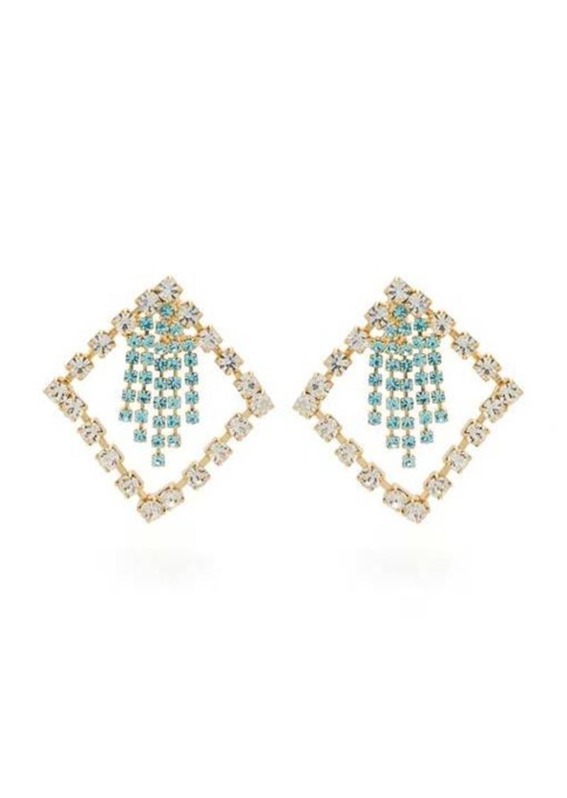 Rosantica By Michela Panero Divinita crystal-embellished earrings