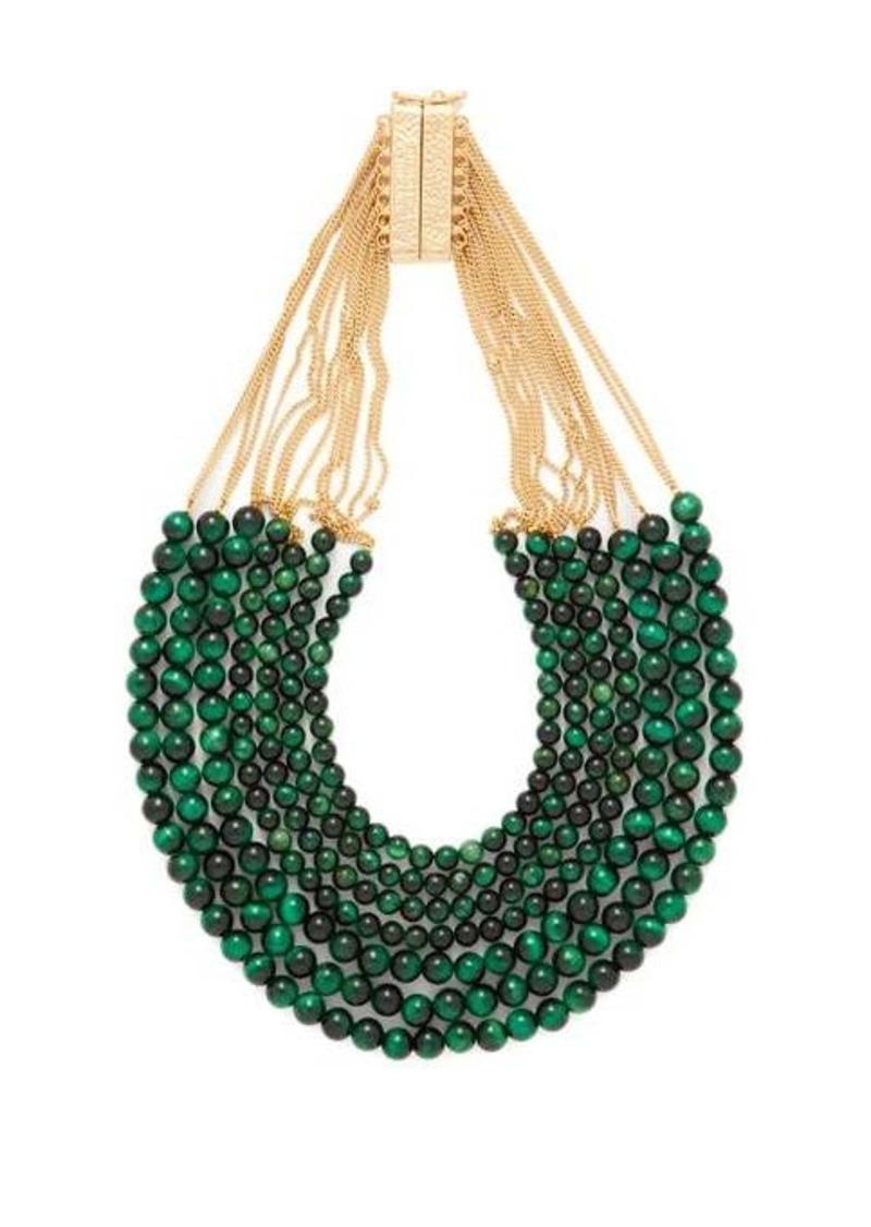 Rosantica By Michela Panero Esplosione quartz-bead necklace