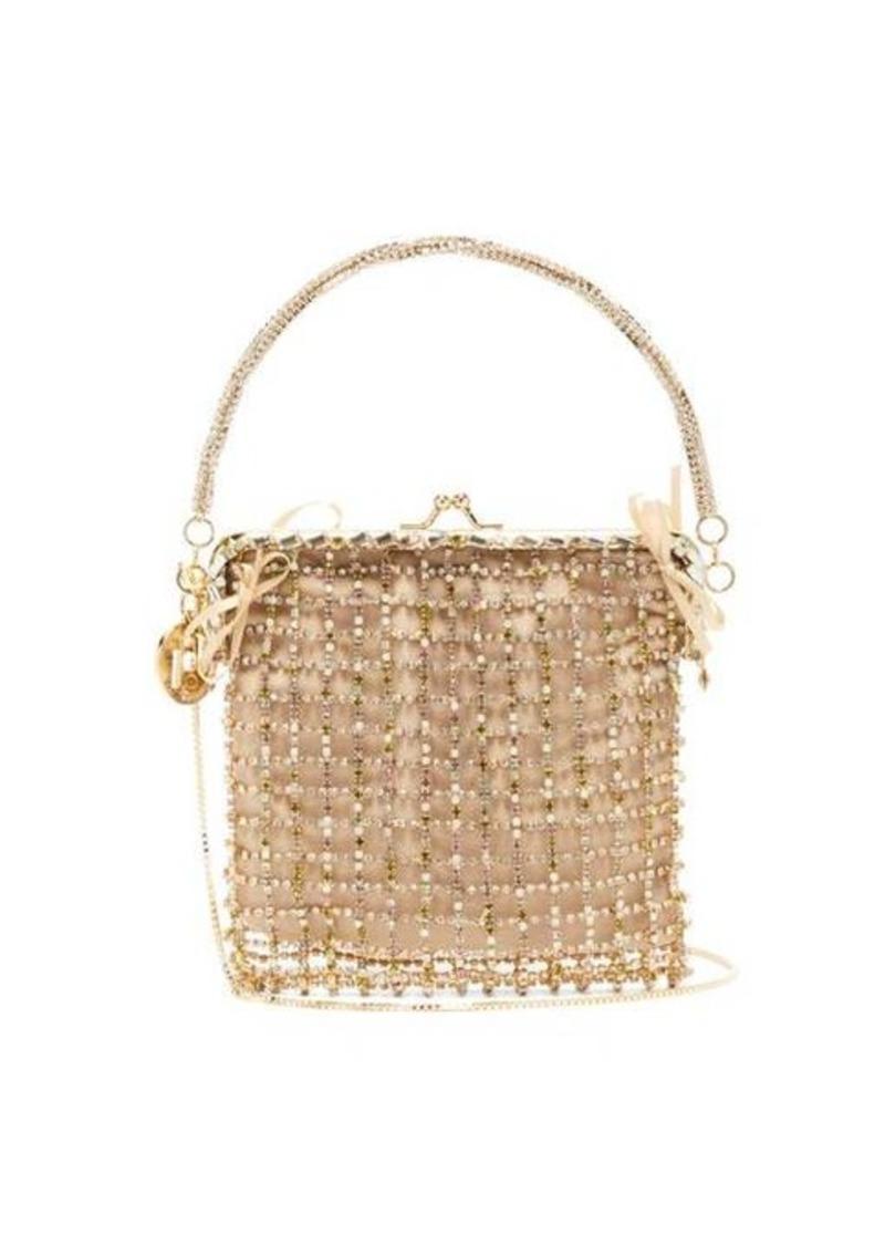 Rosantica Flaubert crystal-embellished clutch