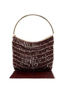 Rosantica Georgina beaded fringe-trimmed bag