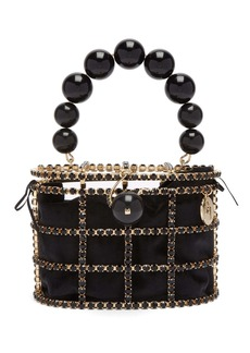 Rosantica By Michela Panero Holli crystal-embellished bag