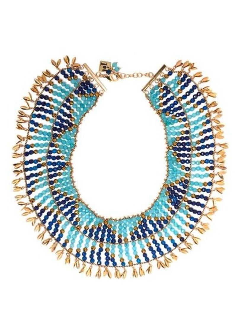 Rosantica By Michela Panero Indios beaded necklace