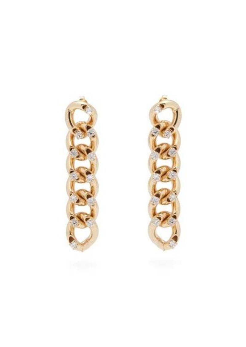 Rosantica By Michela Panero Liberta crystal-embellished drop earrings