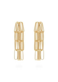 Rosantica By Michela Panero Muse tiered chain-drop earrings