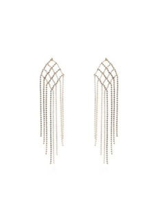 Rosantica By Michela Panero Oasis crystal-encrusted earrings