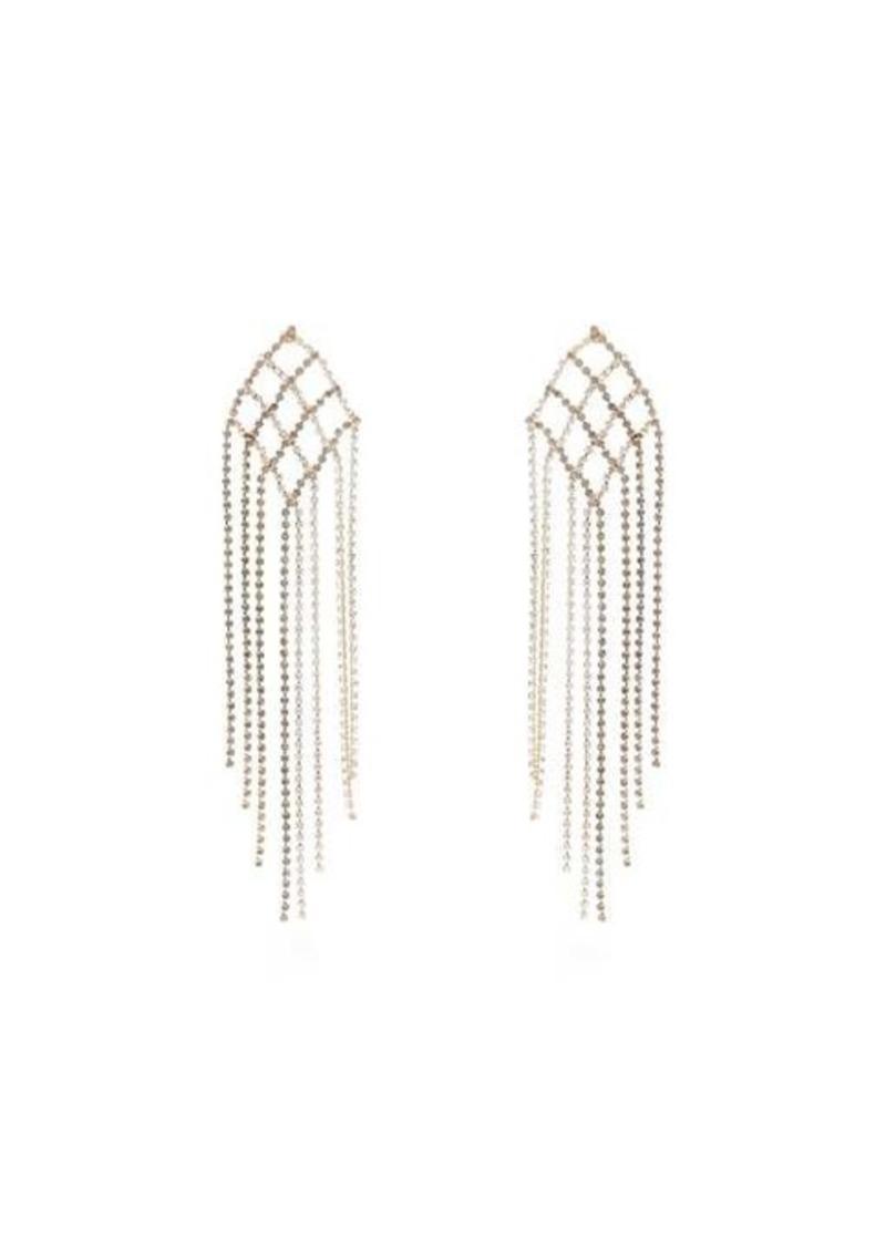 Rosantica By Michela Panero Oasis crystal-encrusted earrings