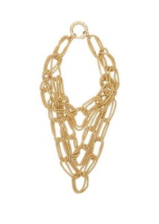 Rosantica Onore layered oversized chain link necklace