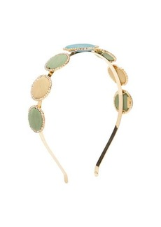 Rosantica By Michela Panero Origine crystal-embellished circle headband