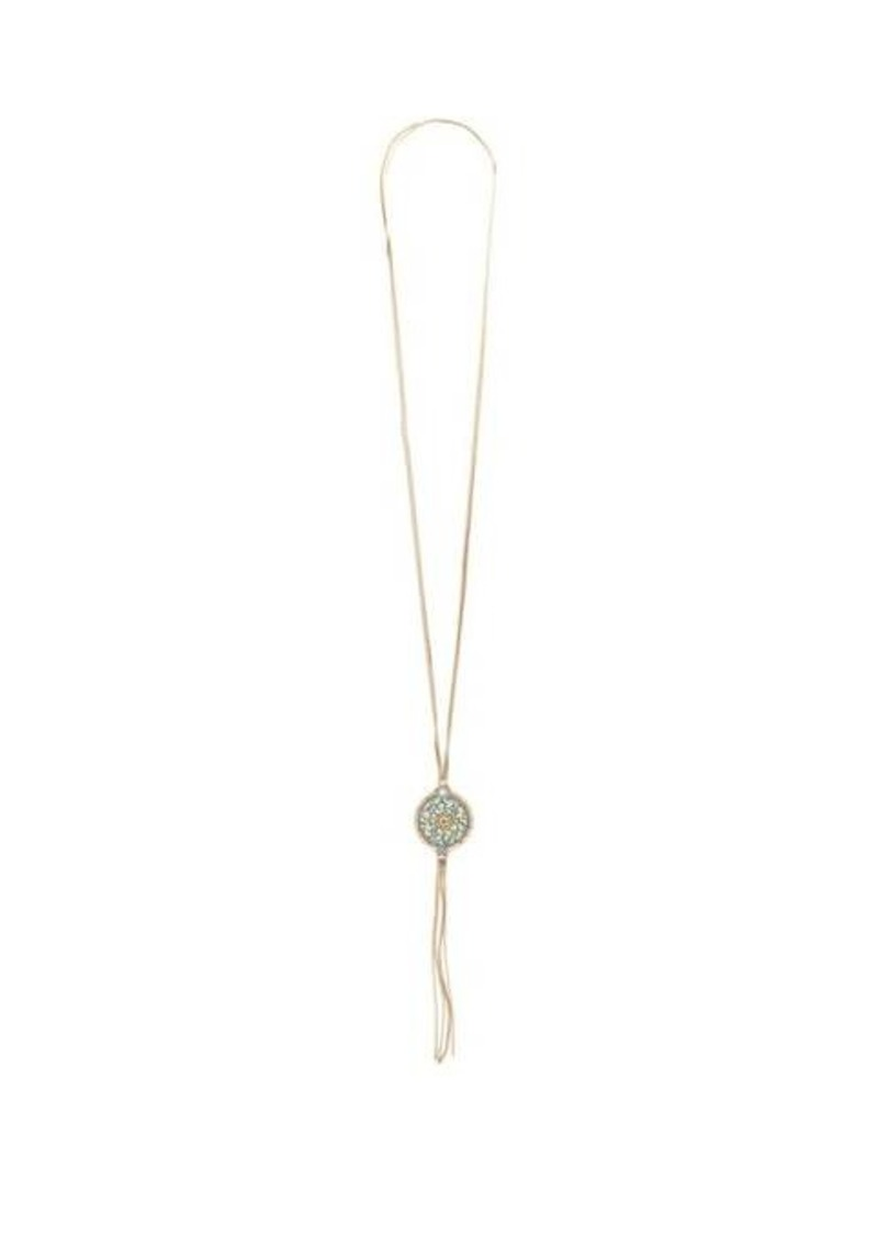 Rosantica By Michela Panero Sicilia pendant-tassel gold-tone necklace