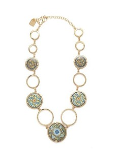 Rosantica By Michela Panero Sicilia tile necklace