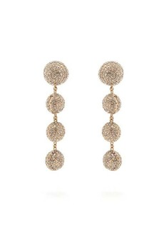 Rosantica By Michela Panero Strobo crystal-embellished-drop earrings