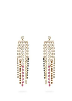 Rosantica By Michela Panero Sublime crystal tassel-drop earrings