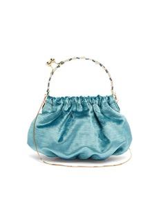 Rosantica By Michela Panero Versailles crystal-embellished velvet clutch