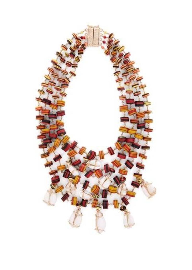 Rosantica By Michela Panero Viper multi-strand necklace