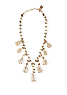 Rosantica By Michela Panero Viper shell and bead necklace