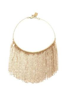 Rosantica Crystal-fringe necklace