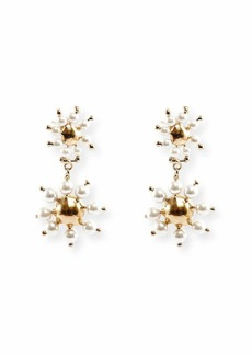 Rosantica Daisy Double-Drop Earrings