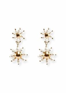 Rosantica Daisy Double-Drop Earrings