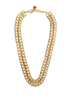 Rosantica Garcon double-chain necklace