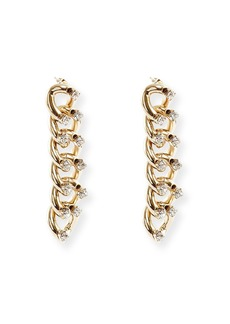 Rosantica Liberta Crystal Chain Earrings