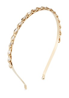 Rosantica Slim Curb Chain Headband w/ Crystal Trim