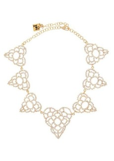 Rosantica Spiga crystal-heart choker necklace