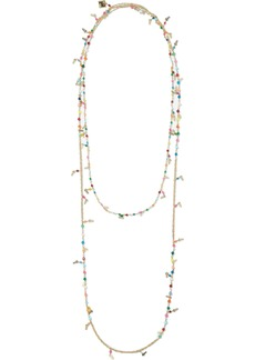 Rosantica Woman Arsella Gold-tone Bead Necklace Gold