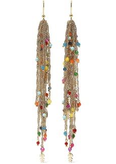 Rosantica Woman Arsella Gold-tone Beaded Earrings Multicolor