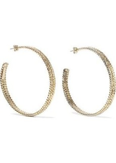 Rosantica Woman Cannella Gold-tone Hoop Earrings Gold