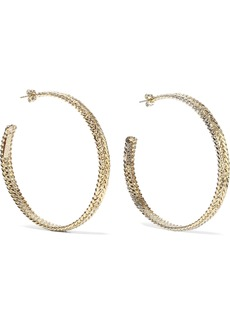 Rosantica Woman Cannella Gold-tone Hoop Earrings Gold