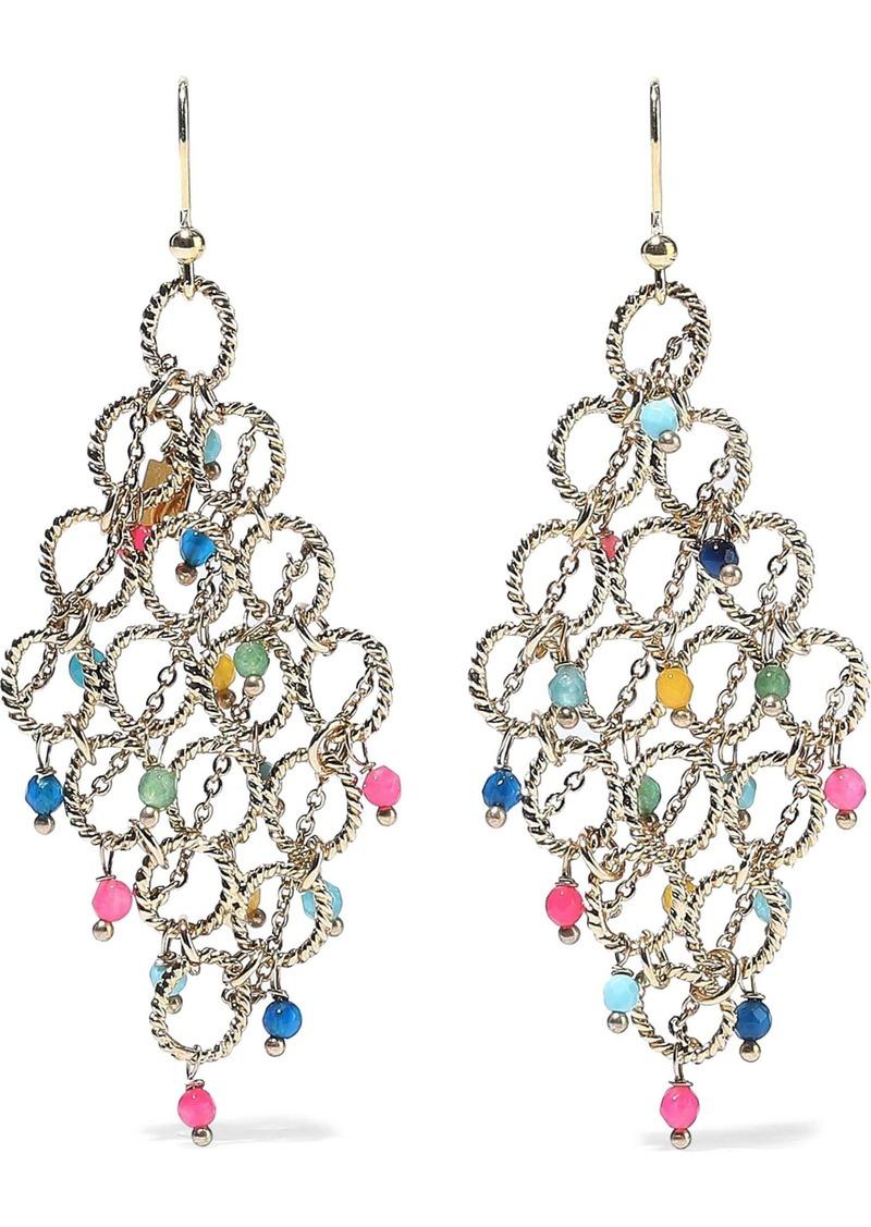 Rosantica Woman Coriandolo Gold-tone Bead Earrings Gold