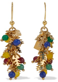Rosantica Woman Corvara Gold-tone Quartz Earrings Multicolor