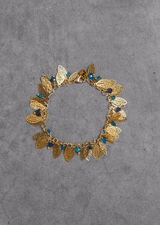 Rosantica Woman Gold-tone Beaded Bracelet Gold