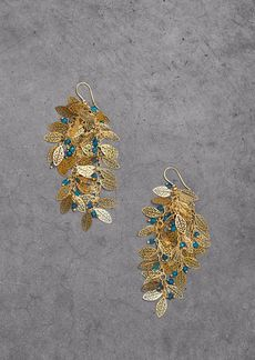 Rosantica Woman Gold-tone Beaded Earrings Gold