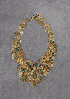 Rosantica Woman Gold-tone Beaded Necklace Gold