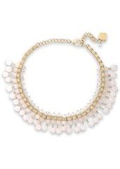 Rosantica Woman Verbier Gold-tone Quartz Necklace Purple