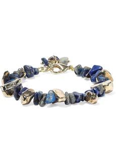 Rosantica Woman Gold-tone Stone Bracelet Blue