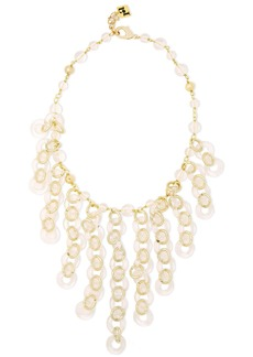 Rosantica Woman Limpido Gold-tone And Bead Necklace Gold