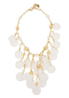 Rosantica Woman Limpido Gold-tone Bead Necklace Gold