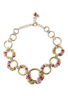 Rosantica Woman Paradiso Gold-tone Ring-embellished Necklace Gold