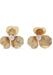 Rosantica Woman Poesia Gold-plated Freshwater Pearl Earrings Gold