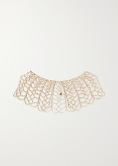 Rosantica Spig Gold-tone Crystal Necklace