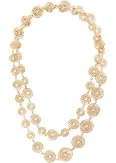 Rosantica spiral chain necklace