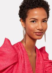 Rosantica Sublime Crystal Fringe Earrings