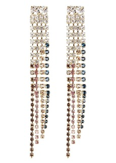 Rosantica Sublime Crystal Fringe Earrings