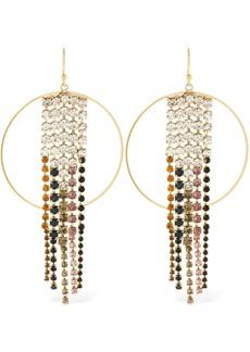 Rosantica Sublime Hoop Earrings W/ Crystals